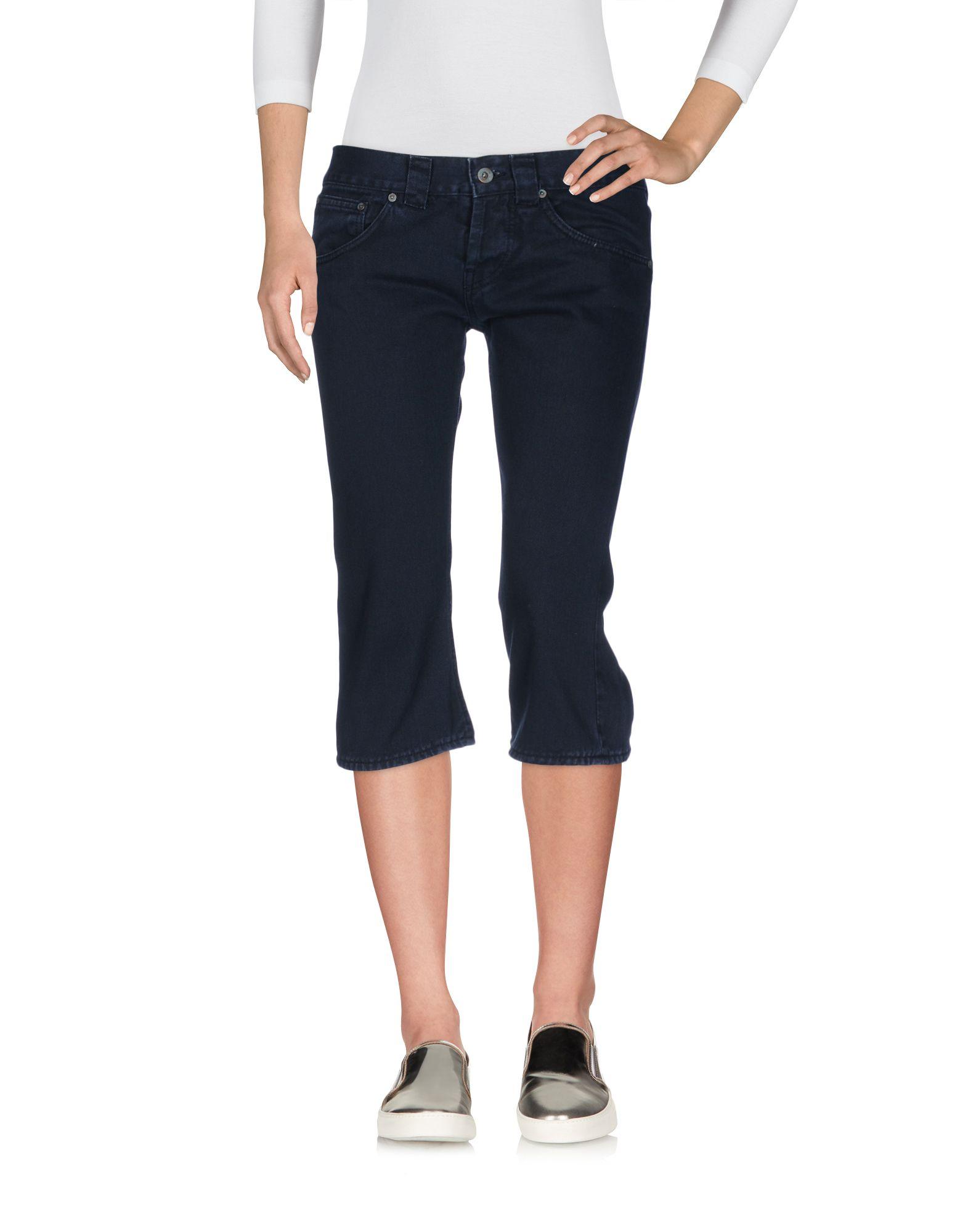 DONDUP STANDART Джинсовые брюки-капри