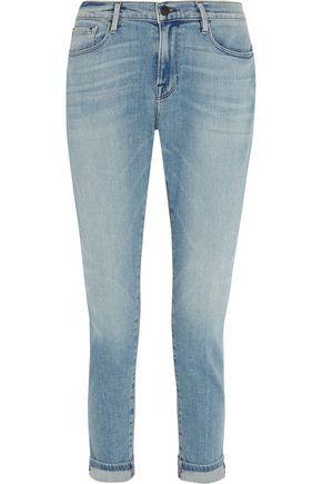 FRAME Le Garcon mid-rise slim boyfriend jeans