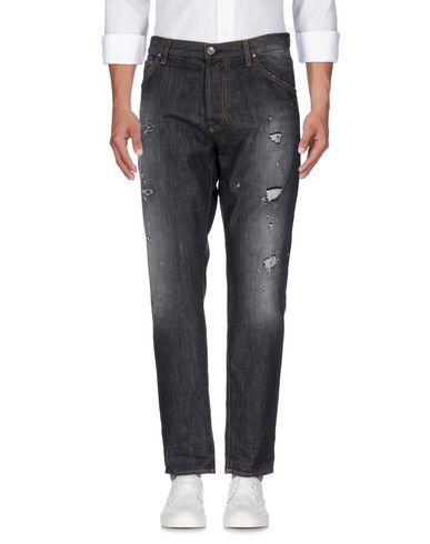 Фото - Джинсовые брюки от AGLINI цвет стальной серый
