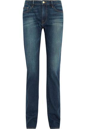 FRAME Forever Karlie mid-rise straight-leg jeans