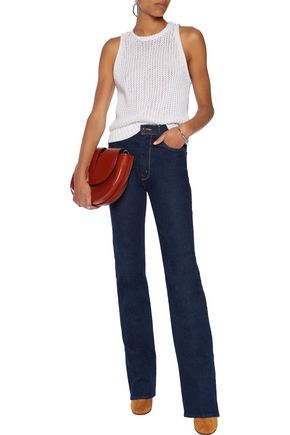 MOTHER The Siren high-rise flared jeans