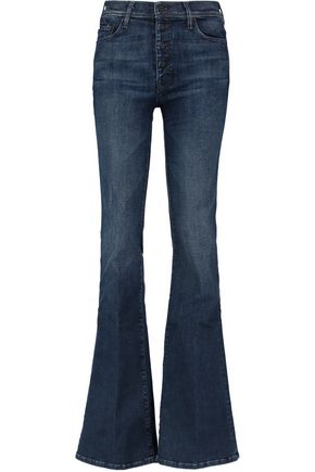 MOTHER The Pixie Cruiser mid-rise bootcut jeans