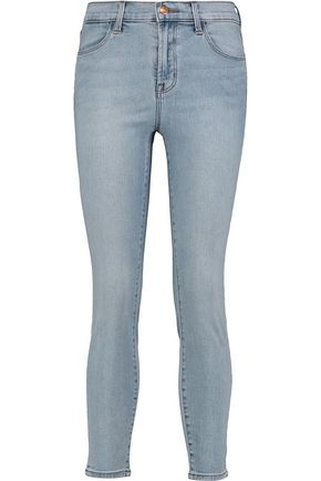 J BRAND Alana mid-rise cropped skinny jeans