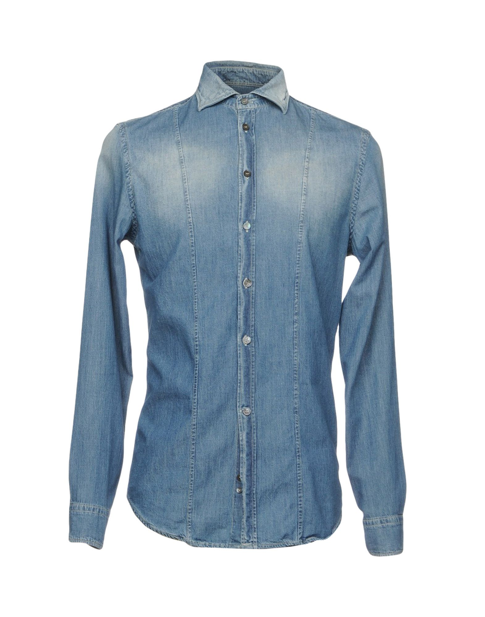 OBVIOUS BASIC Джинсовая рубашка