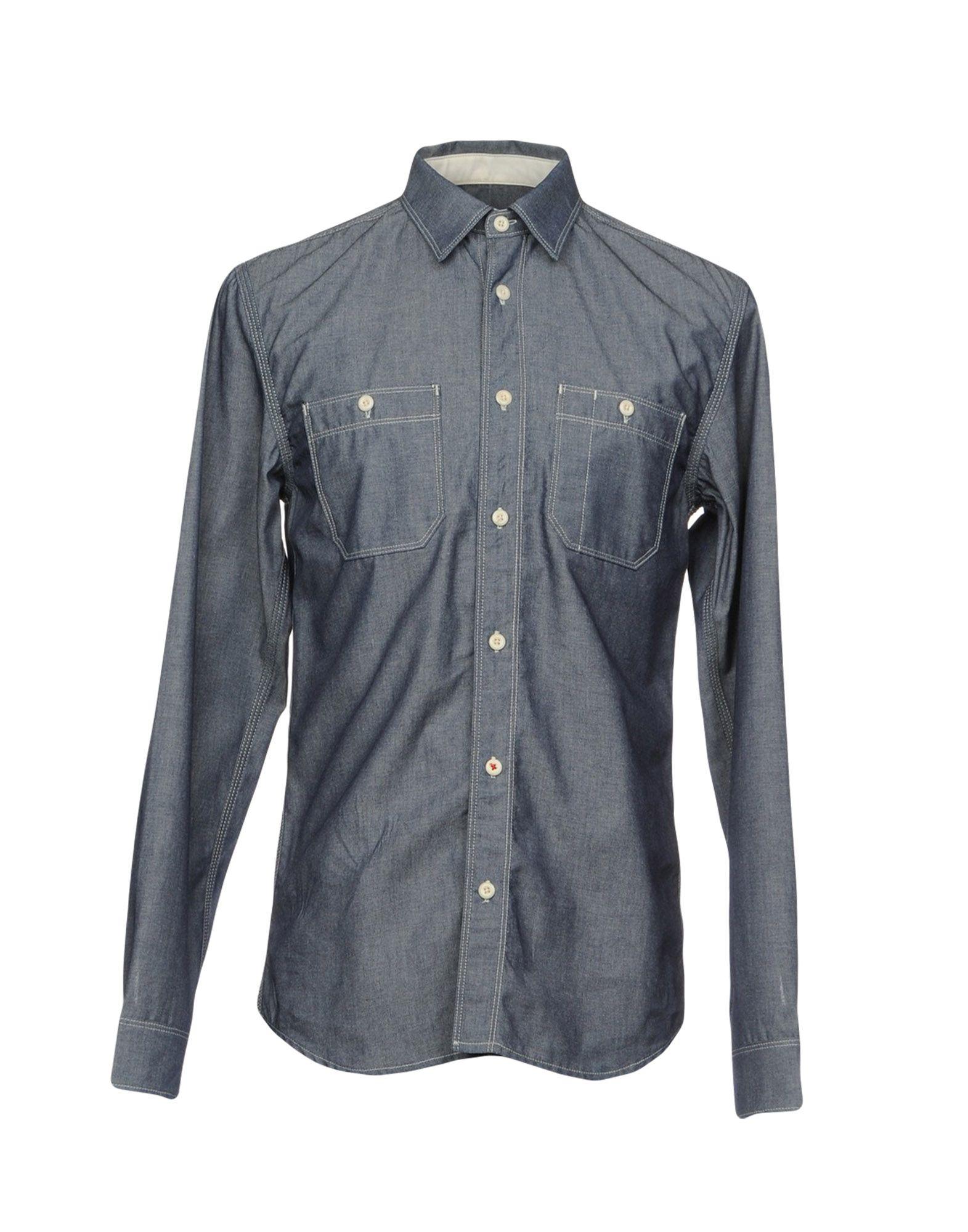 R.D.D. ROYAL DENIM DIVISION BY JACK & JONES Джинсовая рубашка рубашка джинсовая by swan by swan by004ewrpm05