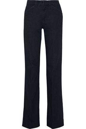 VICTORIA BECKHAM DENIM High-rise wide-leg jeans