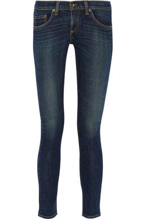 RAG & BONE Tomboy cropped mid-rise slim boyfriend jeans