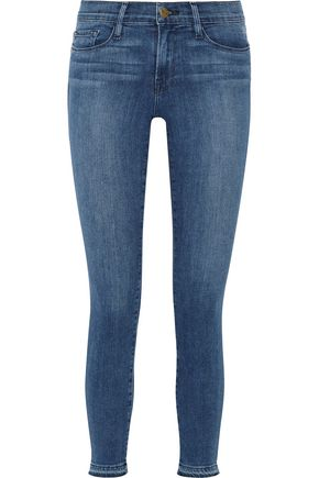 BY FRAME Le Skinny de Jeanne Crop mid-rise jeans