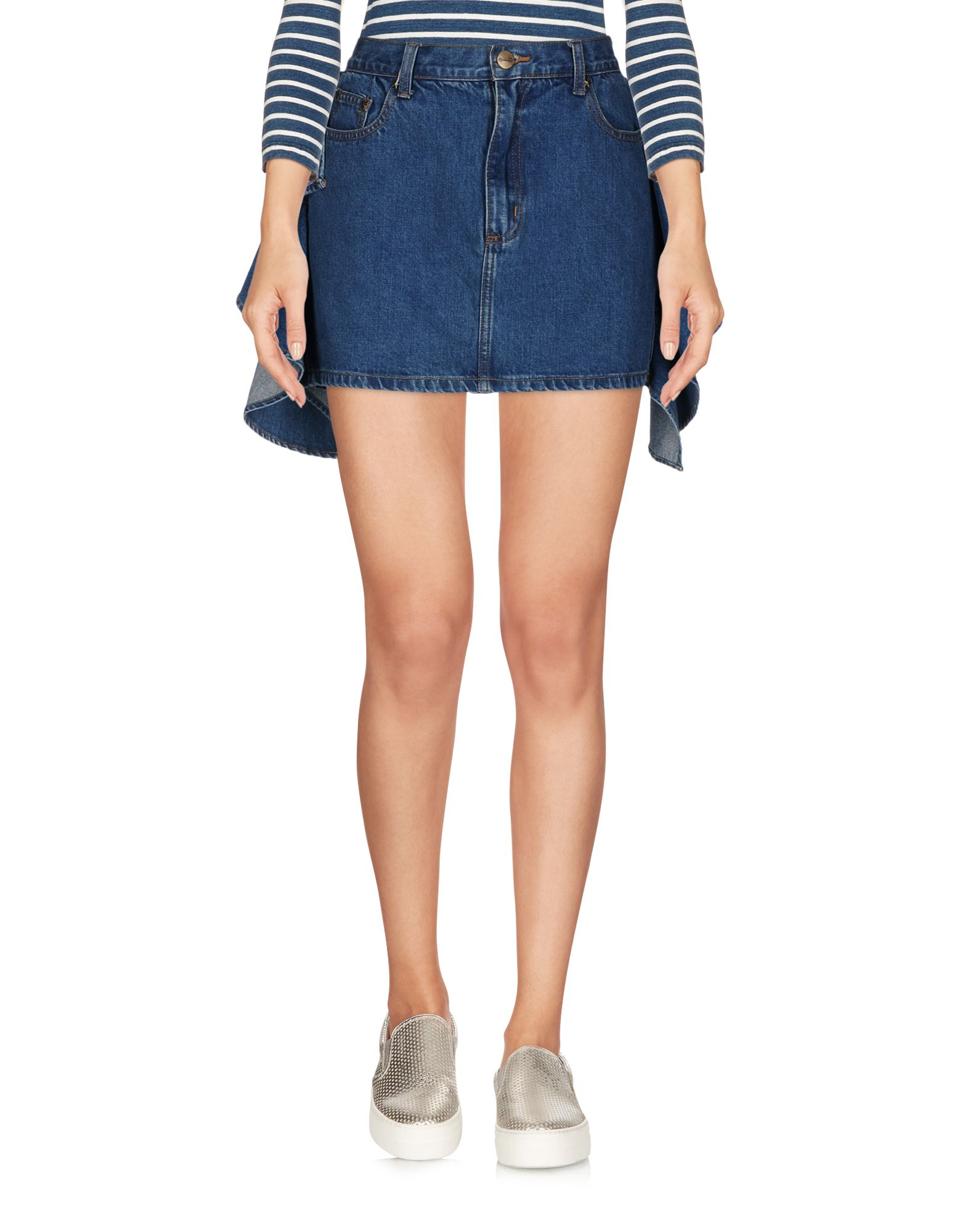 KENGSTAR Джинсовая юбка kengstar джинсовая верхняя одежда