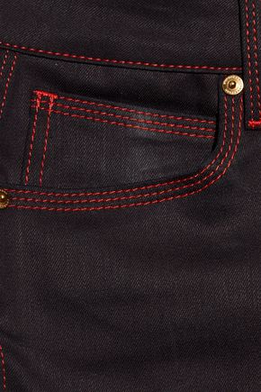 BURBERRY Low-rise flared jeans