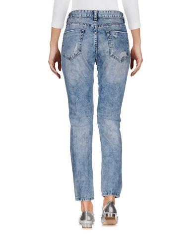 Фото 2 - Джинсовые брюки от ODI ET AMO синего цвета