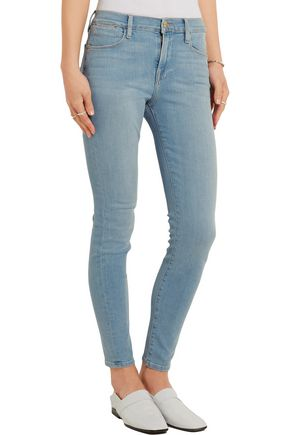 BY FRAME Mid-rise skinny jeans