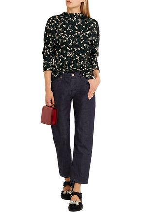 MARNI Cropped low-rise boyfriend jeans