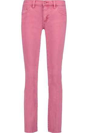 TORY BURCH Cropped low-rise bootcut jeans