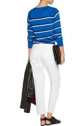 RAG & BONE X Boyfriend distressed mid-rise bootcut jeans