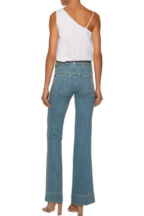 ALICE + OLIVIA Juno mid-rise bootcut jeans
