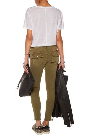 CURRENT/ELLIOTT The Station Agent mid-rise skinny jeans