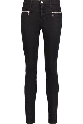 J BRAND Stretch-twill skinny pants