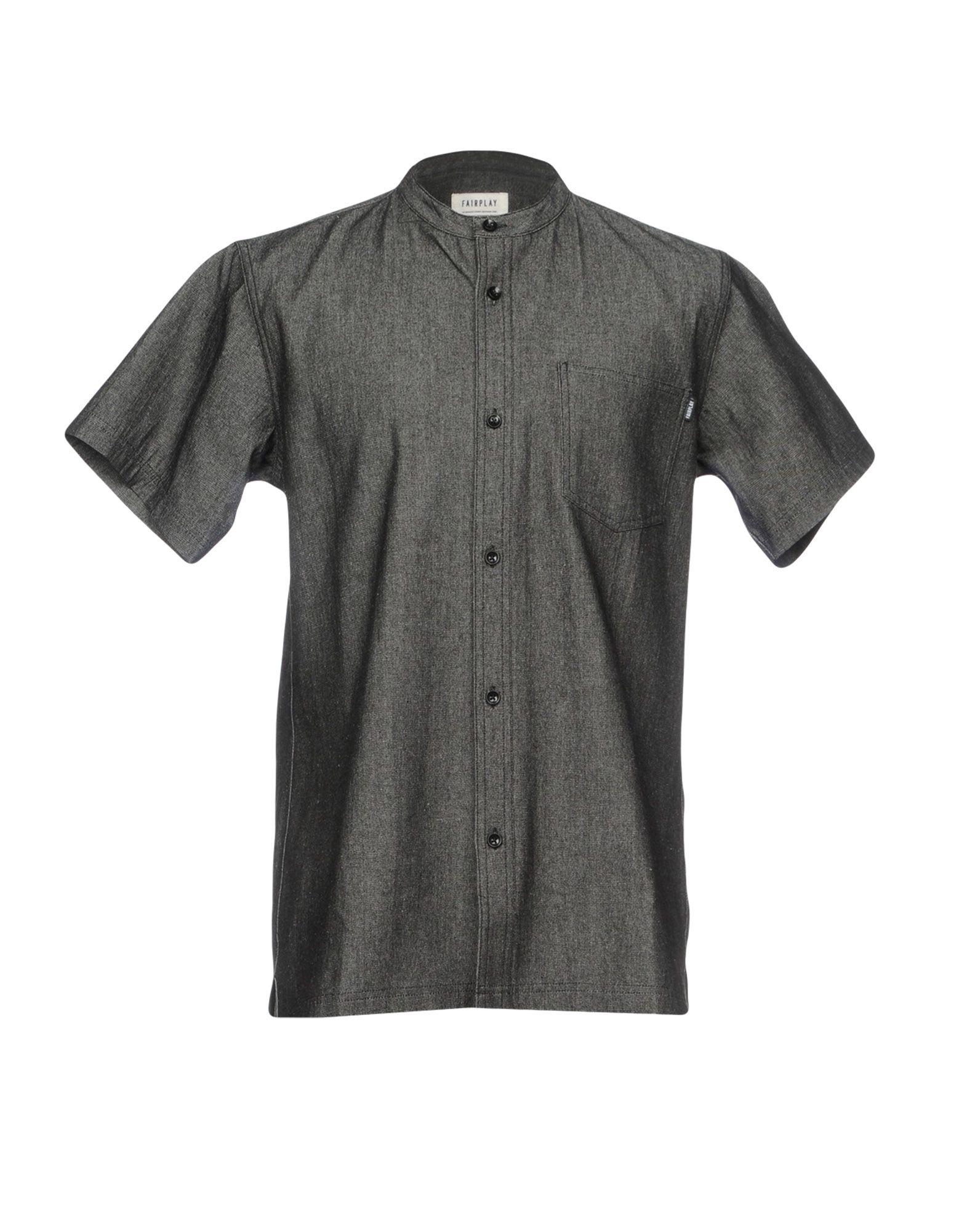 FAIRPLAY Джинсовая рубашка цена 2017