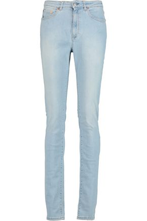 ACNE STUDIOS High-rise faded skinny jeans