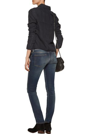 R13 Kate mid-rise skinny jeans