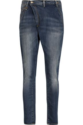 R13 X-Over mid-rise skinny jeans