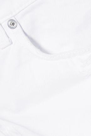McQ Alexander McQueen Distressed boyfriend jeans