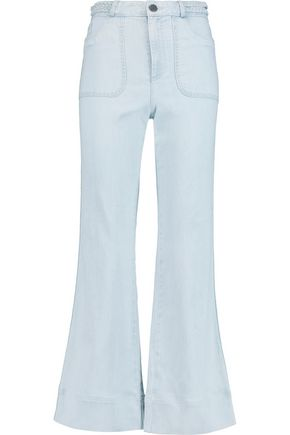 ALICE + OLIVIA Juno high-rise flared jeans