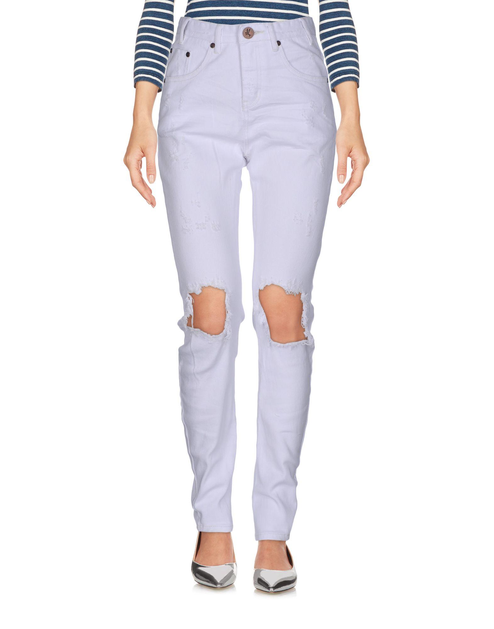 ФОТО one x oneteaspoon джинсовые брюки