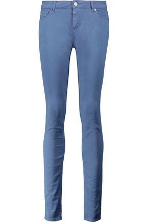 MAISON KITSUNÉ High-rise skinny jeans
