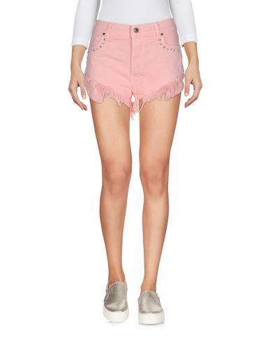 Фото - Джинсовые шорты от GAëLLE Paris розового цвета