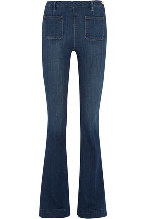 FRAME Le High Flare high-rise flared jeans