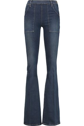 BY FRAME Mid-rise flared jeans