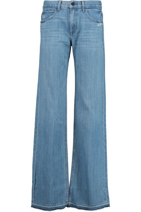 HELMUT LANG Mid-rise flared jeans