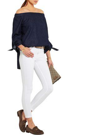 RAG & BONE The Capri cropped mid-rise skinny jeans