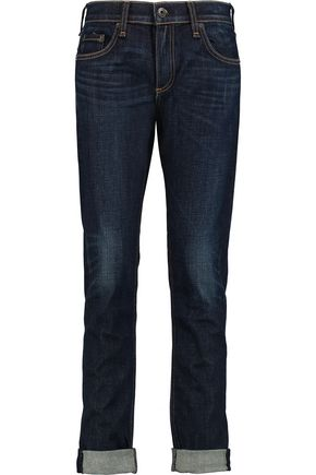 RAG & BONE Dre whiskered slim-leg jeans