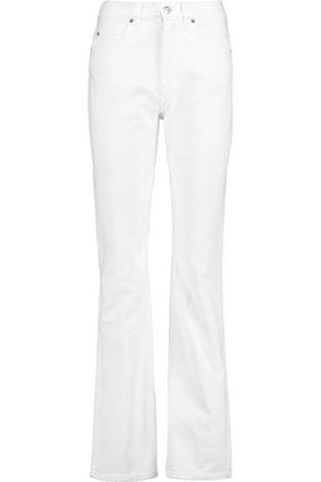 ACNE STUDIOS Lita Optic high-rise bootcut jeans