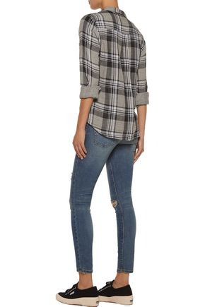 CURRENT/ELLIOTT The Highwaist Stiletto skinny jeans
