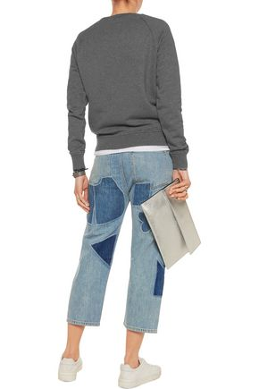 MARC BY MARC JACOBS Big cropped patchwork boyfriend jeans