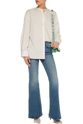 ACNE STUDIOS Mello mid-rise faded flared jeans