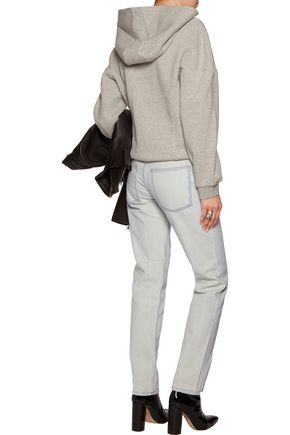 ACNE STUDIOS Boy Bleach high-rise straight-leg jeans