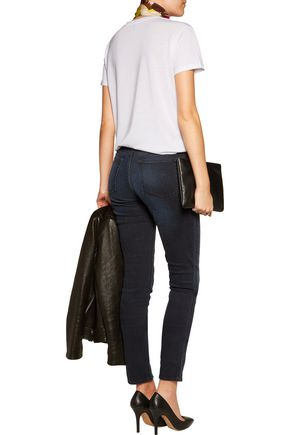ACNE STUDIOS Flex Basement faded low-rise skinny- leg jeans