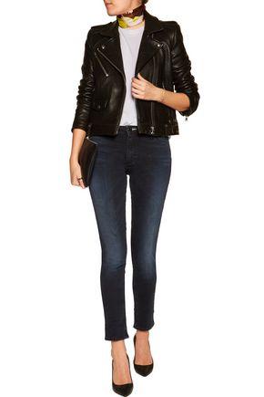ACNE STUDIOS Flex Basement faded low-rise skinny- leg jeans
