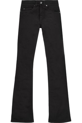 ACNE STUDIOS Lita high-rise cotton-blend twill flared jeans