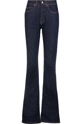 ACNE STUDIOS Lita high-rise flared jeans ...