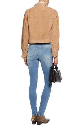 ACNE STUDIOS Pin Vintage high-rise skinny jeans