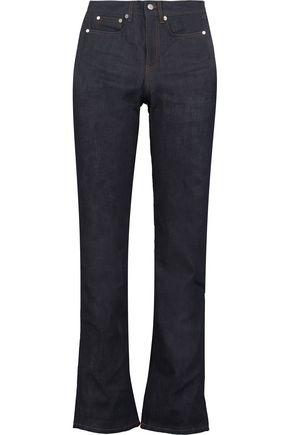 ACNE STUDIOS Shore mid-rise straight-leg jeans