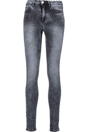 ACNE STUDIOS Skin 5 Onyx mid-rise skinny jeans