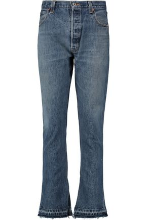 RE/DONE by LEVI'S Elsa high-rise flared jeans