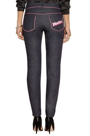 MOSCHINO Mid-rise skinny jeans